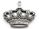 Kings Crown - Pewter Pendant (PW188)