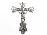 Large Crucifix - Pewter Pendant (PW198)