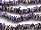 Charoite Chip Gemstone Beads 8-10mm (GS812)