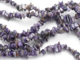 Russian Charoite Chip Gemstone Beads 8-10mm (GS813)