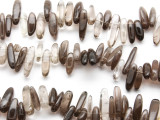 Smoky Quartz Stick Gemstone Beads (GS917)