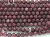 Lepidolite Round Gemstone Beads 6mm (GS818)