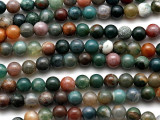 Fancy Jasper Round Gemstone Beads 6mm (GS924)
