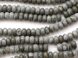 Iron Pyrite Rondelle Gemstone Beads 6mm (GS1037)