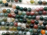 Fancy Jasper Round Gemstone Beads 4mm (GS1097)