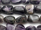 Amethyst Nugget Gemstone Beads 12-20mm (GS1068)