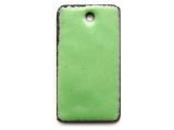 Enameled Copper Rectangle - Pea Green 25mm (EC708)