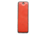 Enameled Copper Rectangle - Oriental Red 38mm (EC407)