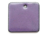 Enameled Copper Square - Iris Purple 18mm (EC504)