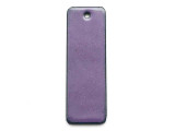 Enameled Copper Rectangle - Iris Purple 38mm (EC507)