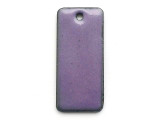 Enameled Copper Rectangle - Iris Purple 25mm (EC508)
