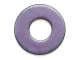 Enameled Copper Ring - Iris Purple 25mm (EC509)