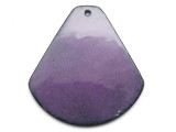 Enameled Copper Drop - Iris Purple 38mm (EC510)