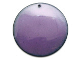 Enameled Copper Disc - Iris Purple 38mm (EC514)