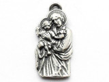 Jesus and Child - Pewter Pendant (PW235)