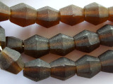 Brown Bicone Resin Beads 19mm (RES201)