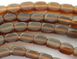 Brown Block Resin Beads 12mm (RES324)