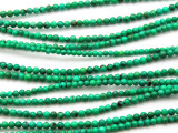 Green Turquoise Round Beads 2mm (TUR51)
