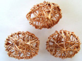 Oval Copper Wire Bead 20mm (CP54)