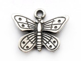 Butterfly - Pewter Pendant (PW248)