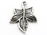 Leaf - Pewter Pendant (PW252)