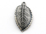 Leaf - Pewter Pendant (PW257)