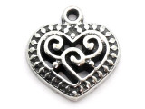 Heart - Pewter Pendant (PW265)