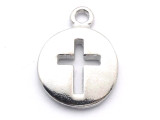 Open Cross - Pewter Pendant (PW267)