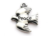 Peace Dove - Pewter Pendant (PW281)