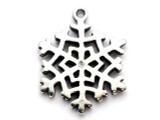 Snowflake - Pewter Pendant (PW284)
