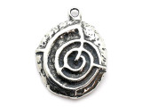 Celtic Labyrinth - Pewter Pendant (PW304)