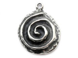 Celtic Spiral - Pewter Pendant (PW307)
