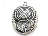 Celtic Labyrinth - Pewter Pendant (PW309)