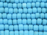 Crow Beads - Sky Blue Glass 9mm (CROW24)