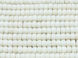 Natural Bamboo Coral Heishi Beads 6mm (CO99)
