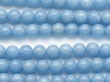Angelite Round Gemstone Beads 6mm (GS1280)