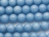 Angelite Round Gemstone Beads 10mm (GS1283)