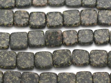 Gray Jasper Square Tabular Gemstone Beads 15mm (GS1416)
