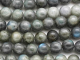 Labradorite Round Gemstone Beads 12mm (GS1389)
