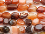 Carnelian Nugget Gemstone Beads 10-16mm (GS1396)