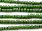 Green Glass Beads 4-6mm (JV172)