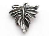 Leaf - Pewter Pendant (PW562)