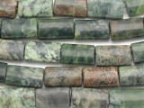 Jade Rectangular Tabular Gemstone Beads 20mm (GS1445)