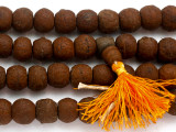 Bodhi Seed Prayer Beads Mala 12-15mm (NP536)