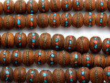 Bodhi Seed w/Inlay Mala 12-14mm (NP539)