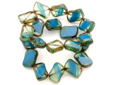 Czech Glass Beads 15mm (CZ349)