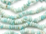 "Amazonite Chip Nugget Gemstone Beads - 32"" strand (GS1684)"