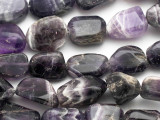 Amethyst Nugget Gemstone Beads 15-20mm (GS1789)