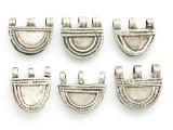 Old Sterling Silver Metal Telsum Amulet - Ethiopia (ME167)