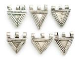Old Sterling Silver Metal Telsum Amulet - Ethiopia (ME168)